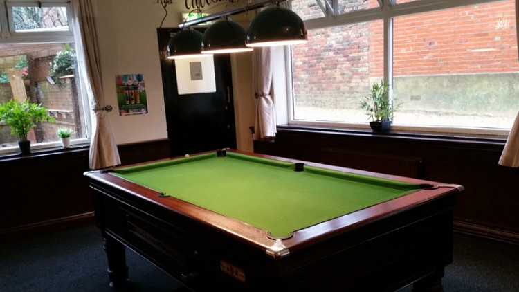 FREE POOL – After 6pm –  Monday – Thursday – Sunday