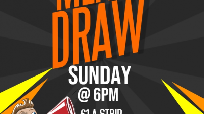 Meat Draw Every Sunday At 6PM