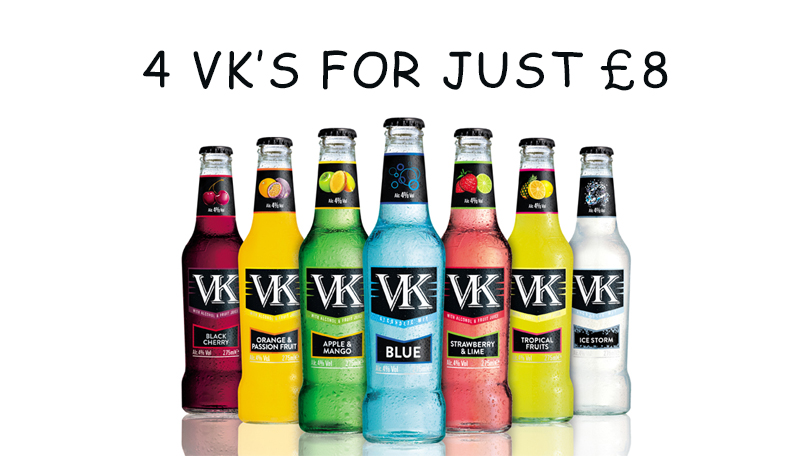 4 VK's For Just £8