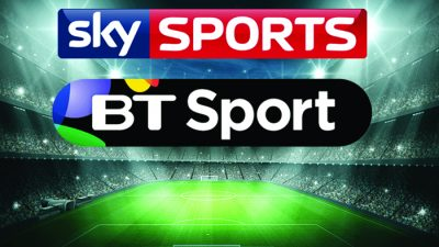 All Sky and BT  Sports Games Shown