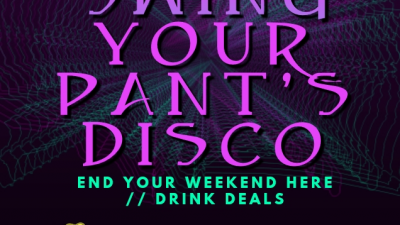Swing Your Pants Disco – 2nd of June at 7PM